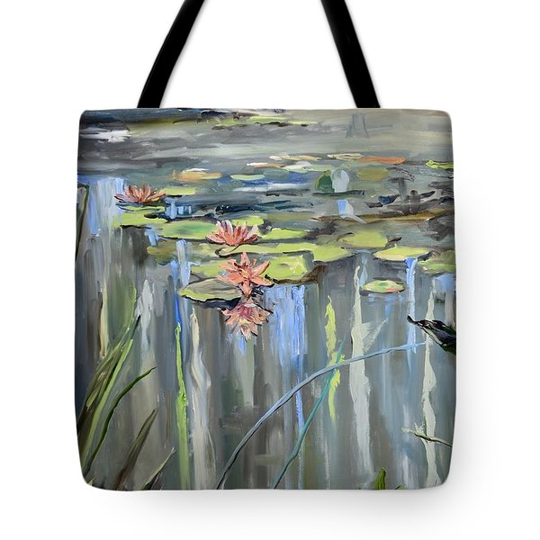 Still Waters Tote Bag by Donna Tuten