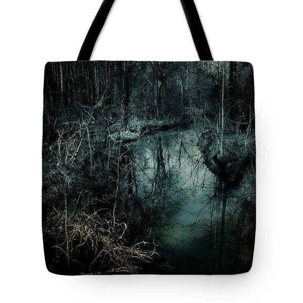 Still Waters Run Deep Tote Bag
