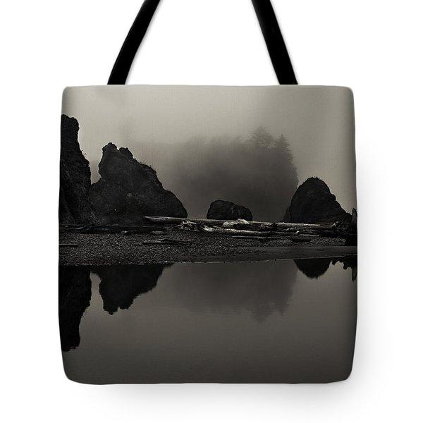 Stillness At Ruby Beach Tote Bag