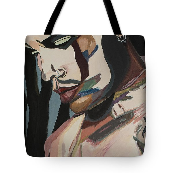 Stillness Of Heart Portrait Crop Tote Bag