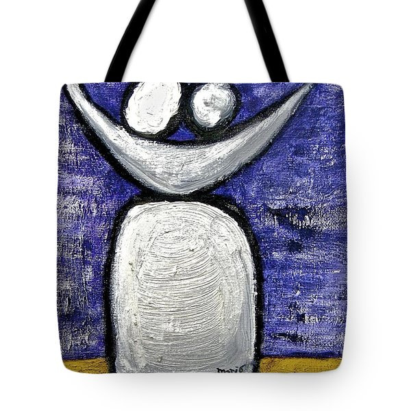 Tote Bag featuring the painting Stills 10-002 by Mario Perron