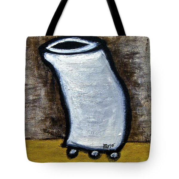 Tote Bag featuring the painting Stills 10-003 by Mario Perron