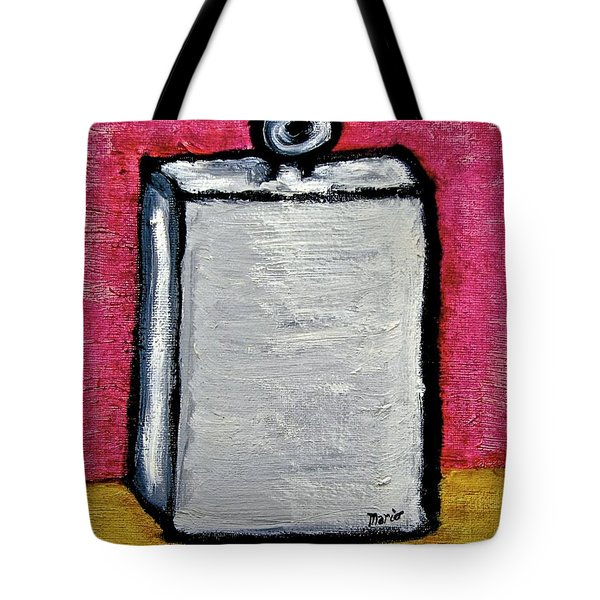 Tote Bag featuring the painting Stills 10-004 by Mario Perron