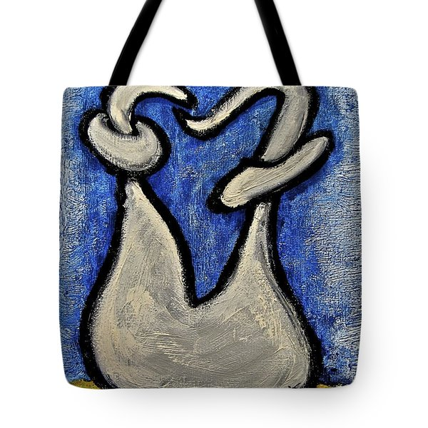 Tote Bag featuring the painting Stills 10-006 by Mario Perron