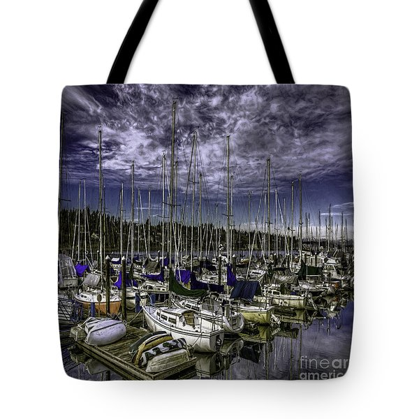 Tote Bag featuring the photograph Stirring The Sky by Jean OKeeffe Macro Abundance Art