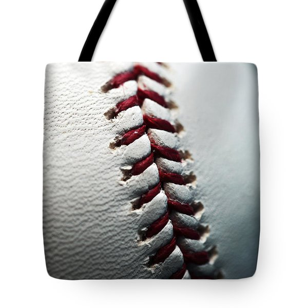 Stitches II Tote Bag by John Rizzuto