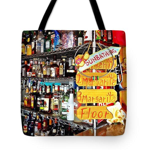 Stocked Bar At Jax Tote Bag