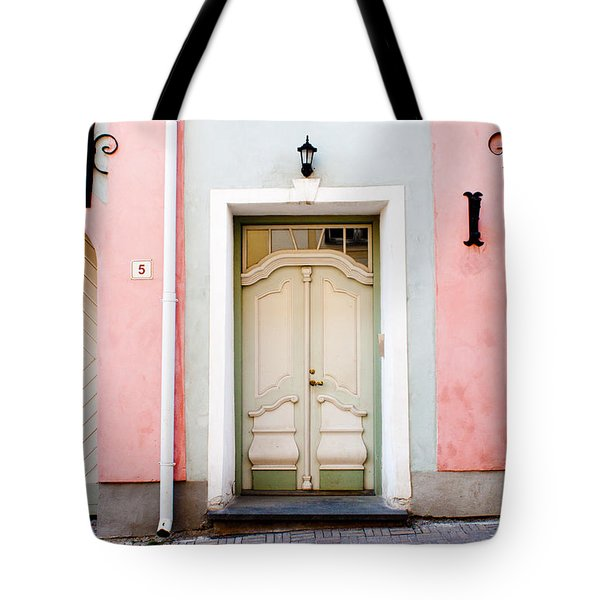 Stockholm Doorway Tote Bag by Thomas Marchessault