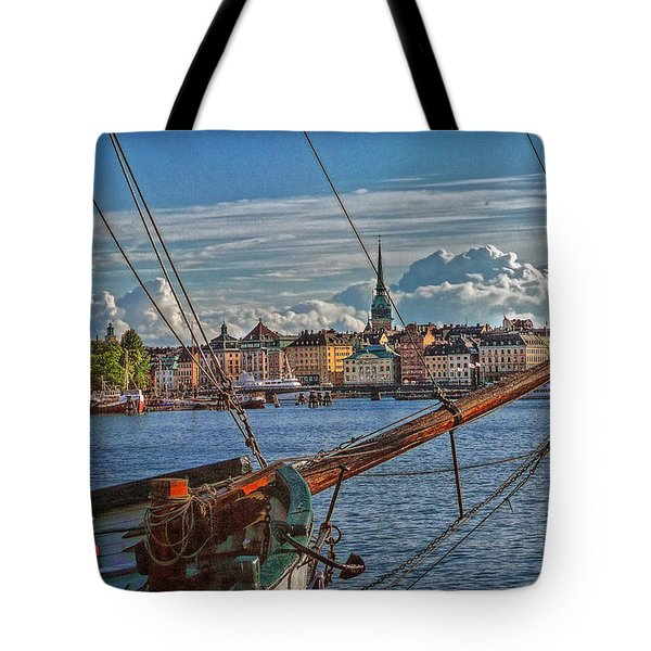 Stockholm Tote Bag by Hanny Heim