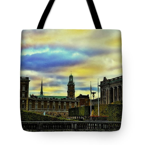 Stockholm II Tote Bag by Ramon Martinez