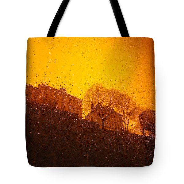 Stockholm The Heights Of South In Silhouette Tote Bag