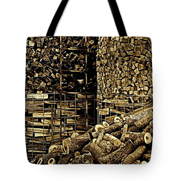 Stockpile  Tote Bag by Chris Berry