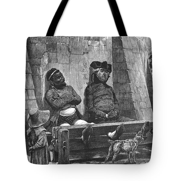 Stocks, 1886 Tote Bag