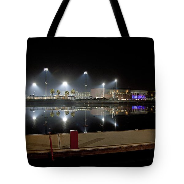 Stockton Stadium Tote Bag