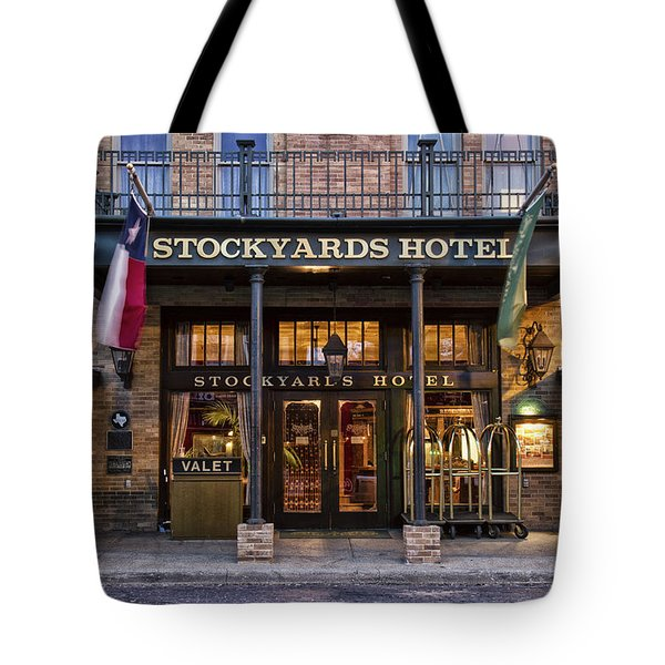 Stockyards Hotel Tote Bag