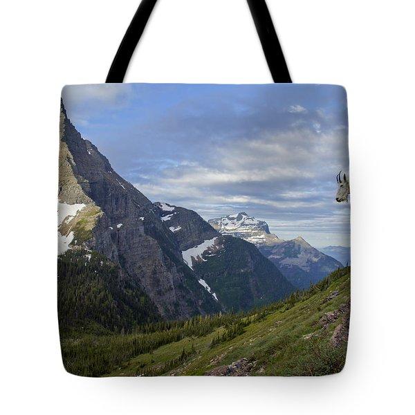 Stoic Mountain Goat Tote Bag