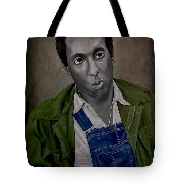 Stokely Carmichael Aka Kwame Toure Tote Bag by Chelle Brantley