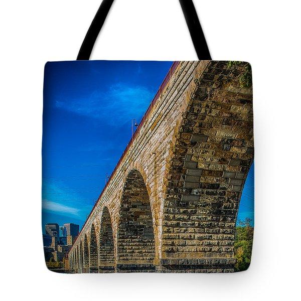 Stone Arch Bridge By Paul Freidlund Tote Bag