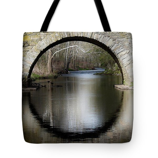 Stone Arch Bridge Tote Bag