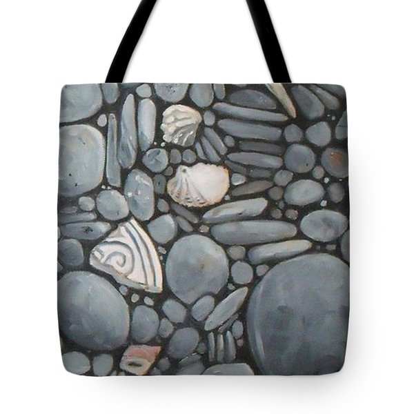 Stone Beach Keepsake Rocky Beach Shells And Stones Tote Bag