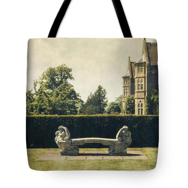 Stone Bench Tote Bag by Joana Kruse