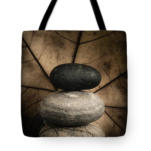 Stone Cairns II Tote Bag