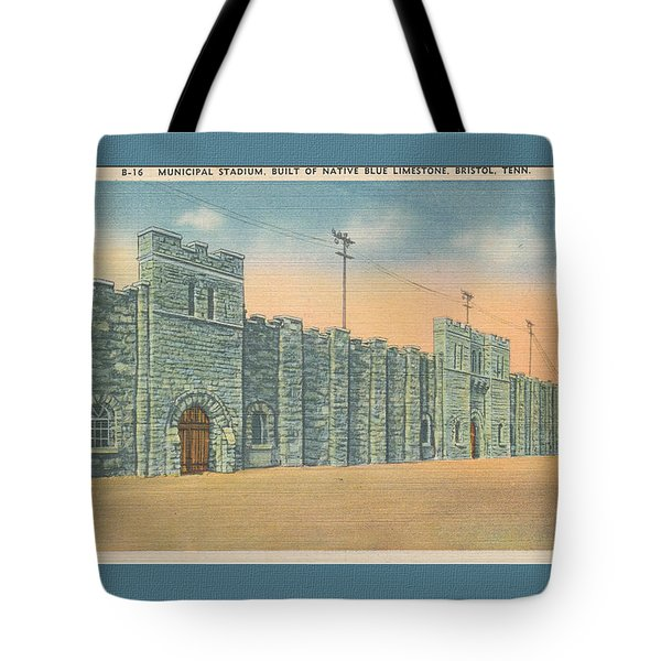 Stone Castle Bristol Tn Built By Wpa Tote Bag