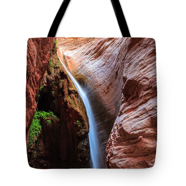 Stone Creek Fall Tote Bag by Inge Johnsson