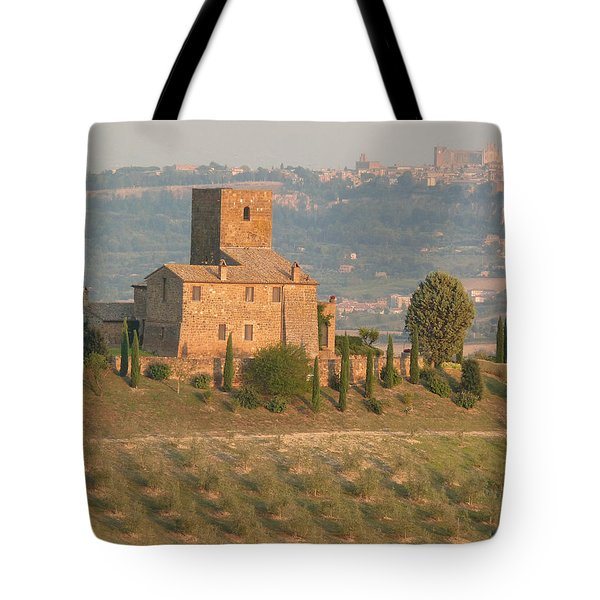 Tote Bag featuring the photograph Stone Farmhouse by Marcia Socolik