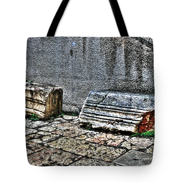 Tote Bag featuring the photograph Holy Rocks In Israel by Doc Braham