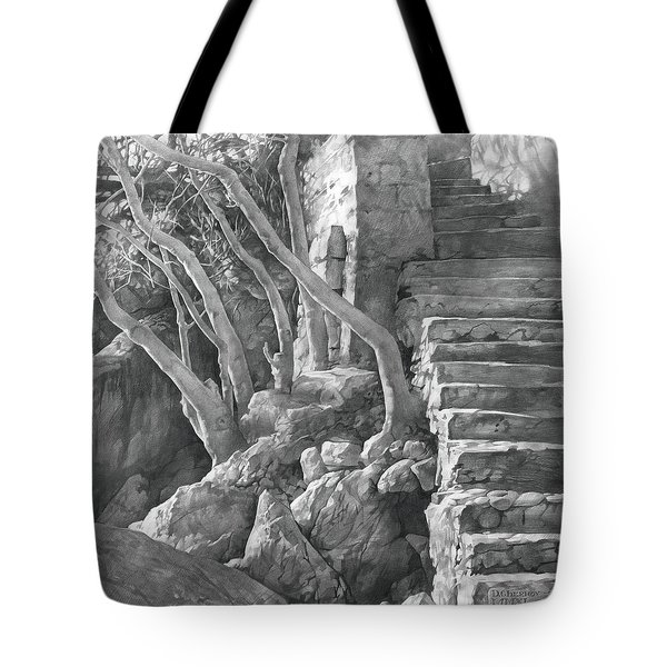 Stone Staircase 2011 Tote Bag