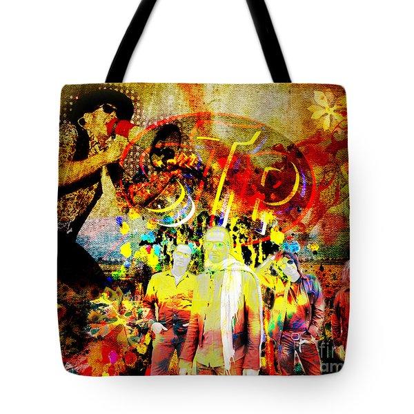 Stone Temple Pilots Original  Tote Bag by Ryan Rock Artist