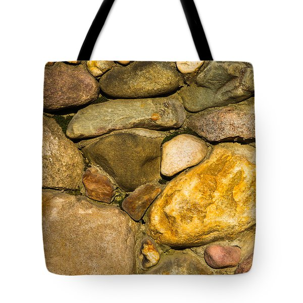 Stone Wall - Featured 3 Tote Bag by Alexander Senin