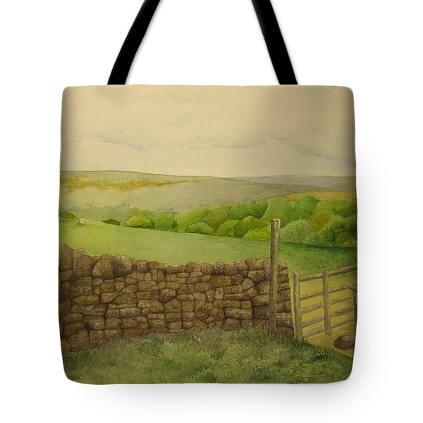 Stone Wall Tote Bag by Jeff Lucas