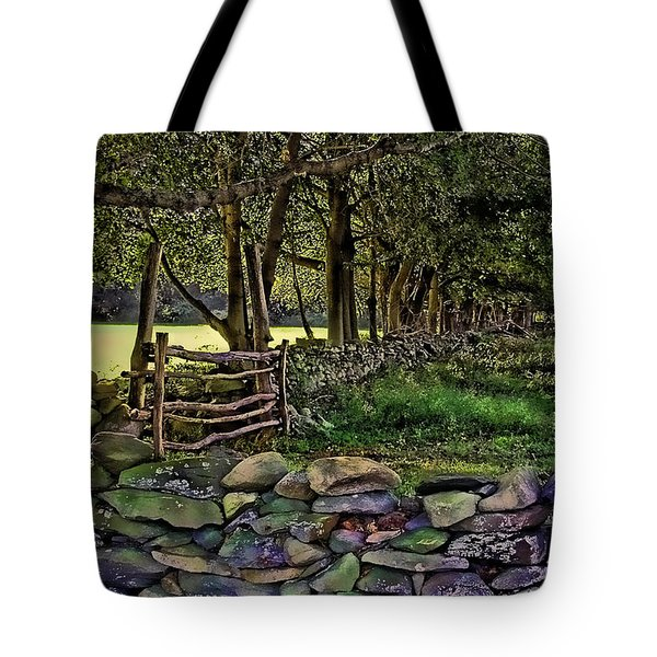 Stone Walled Tote Bag