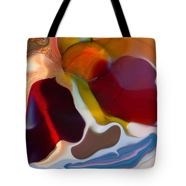 Tote Bag featuring the painting Stoned by Omaste Witkowski