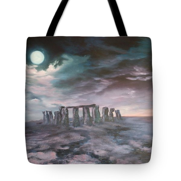 Stonehenge In Wiltshire Tote Bag