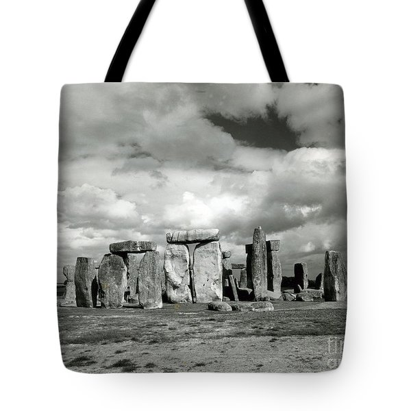 Stonehenge Prehistoric Monument Tote Bag by Science Source