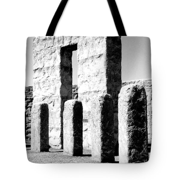 Stonehenge Replica Tote Bag by Chalet Roome-Rigdon
