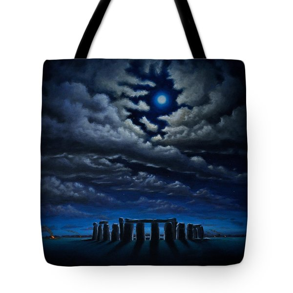 Stonehenge - The People's Circle Tote Bag