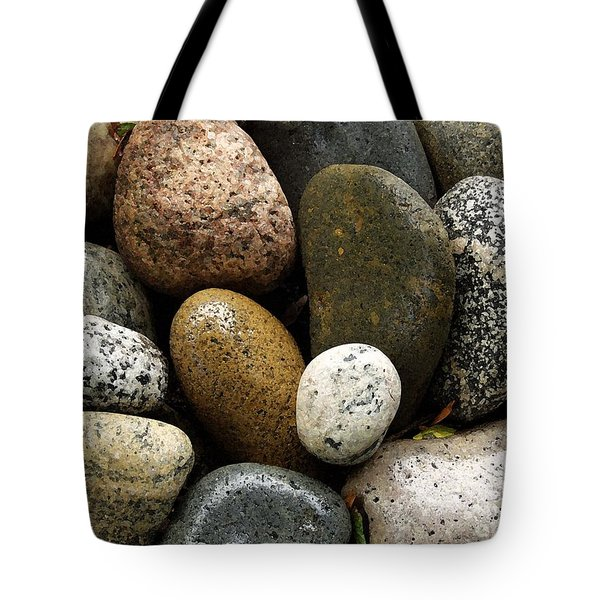 Tote Bag featuring the photograph Stones by Carol Sweetwood
