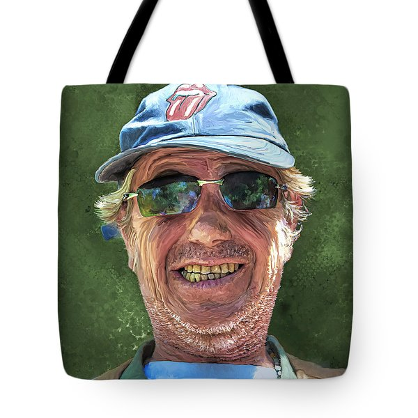 Stones Fan Tote Bag by Rick Mosher