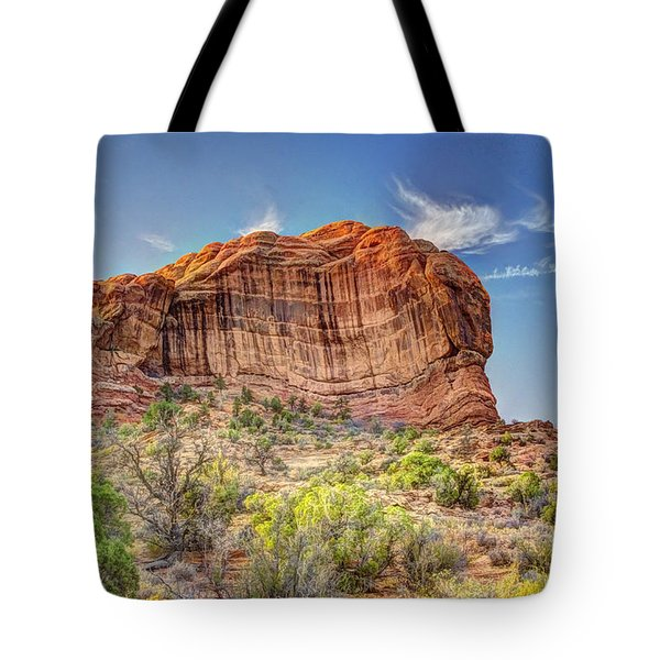 Stones Of The West Tote Bag