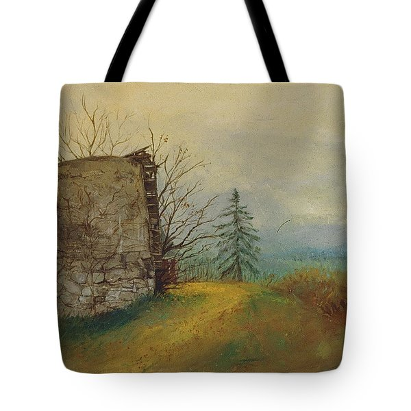 Stoney Silence Tote Bag by Sherri Anderson