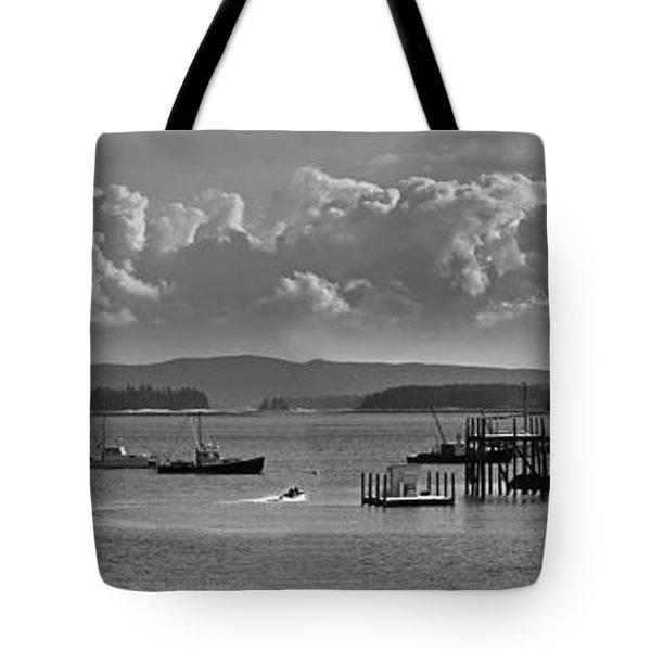 Stonington Harbor Tote Bag