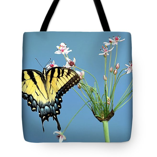 Stop And Smell The Flowers Tote Bag by Elizabeth Winter
