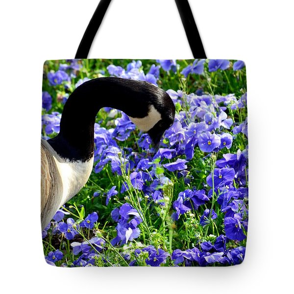 Stop And Smell The Flowers Tote Bag by Maria Urso