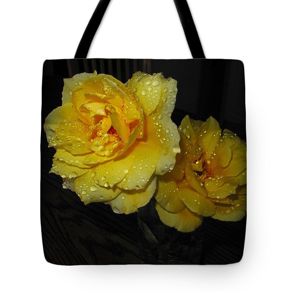 Stop And Smell The Roses Tote Bag by Joyce Dickens