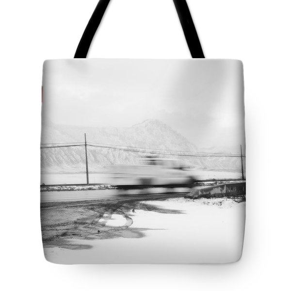 Stop - In The Name Of Love Tote Bag by Theresa Tahara