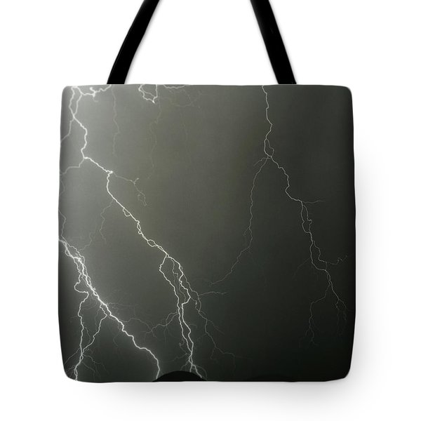 Tote Bag featuring the photograph Stop Me When It's Through by J L Woody Wooden